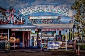 The entrance to The Tarpon Springs Sponge Docks
